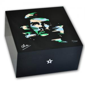 Elie Bleu Humidor - Che Black Camouflage  –  75 Cigar Capacity