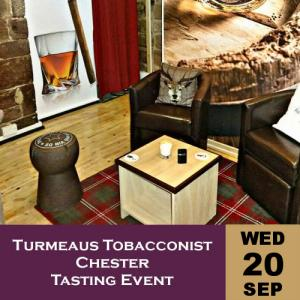 Turmeaus Tobacconist Chester Tasting Event 20/9/17