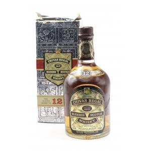 Chivas Regal 12 Year Old 60s/70s - 26 2/3 Fl Oz 75 Proof