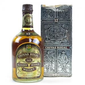 Chivas Regal 12 Year Old 1970s Blended Scotch Whisky 26 2/3 Fl Oz