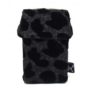 Smokeshirt Cigarette Case Black Leo Regular