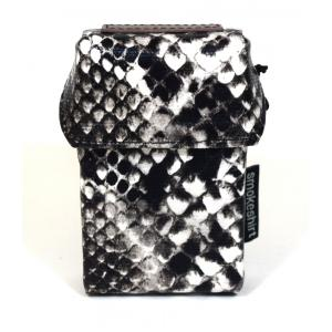 Smokeshirt Cigarette Case Black Snake Regular