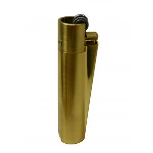 Clipper Metal Flint Gold Lighter