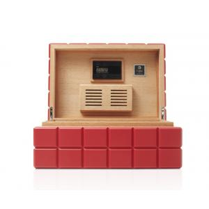 Colibri Heritage Humidor - Red - 150-125 Capacity
