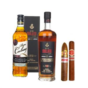 Cuban Rumbelicious Sampler - Cigars and Rum