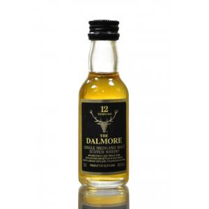 Dalmore 12 Year Old Single Malt Scotch Whisky Miniature - 5cl 40%