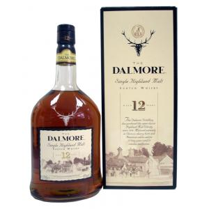 Dalmore 12 Year Old Single Malt Scotch Whisky Miniature - 5cl 43%