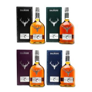 Dalmore Rivers Collection 4x70cl 2011 Release - 4x70cl