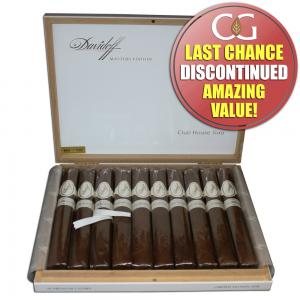 Davidoff Master Edition Clubhouse Cigar - Box of 10 (End of Line)