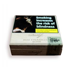 Davidoff Mini Cigarillos Silver - Box of 50