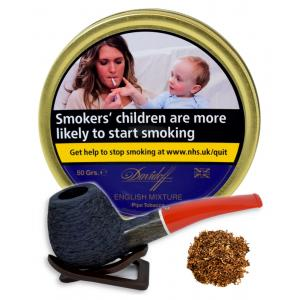 Davidoff English Mixture Pipe Tobacco 50g Tin