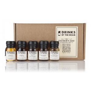 Drinks by the Dram Fathers Day Whisky Tasting Set - 5x3cl 45.1%