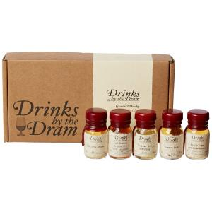 Drinks by the Dram Grain Whisky Tasting Set - 5x3cl 44.7%