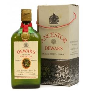 Dewars De Luxe Ancestor 1960s Blended Scotch Whisky - 75cl 40%