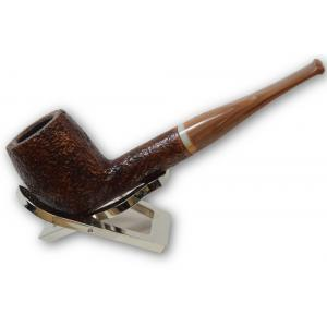 Savinelli Dolomiti 128 Rustic Light Brown 9mm Pipe (SAV229)