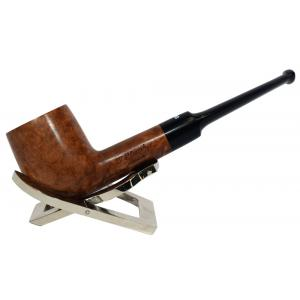 Dr Plumb Meerschaum Lined Metal Filter Fishtail Briar Pipe (DP074)