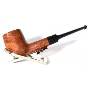 Dr Plumb Meerschaum Lined Metal Filter Fishtail Briar Pipe (DP114)