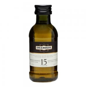 Drambuie 15 Year Old Whisky Liqueur Miniature - 5cl 43%