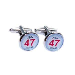 Golf Ball Personalised Cufflinks