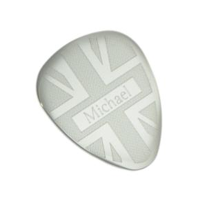 Union Jack Personalised Guitar Pick Plectrum