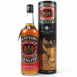 Dufftown 8 Year Old 1980s House of Bells Whisky - 75cl 40%