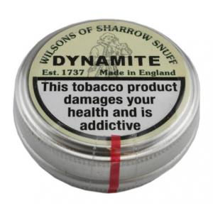 Wilsons of Sharrow - Dynamite Snuff - Small Tin - 5g