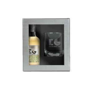 Edinburgh Gin Elderflower Liqueur 20cl with Glass Gift Set
