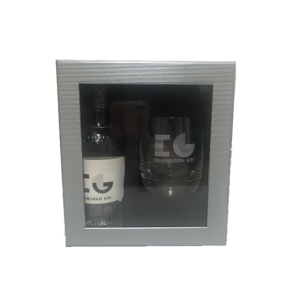 Edinburgh Gin 20cl with Glass Gift Set
