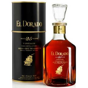 El Dorado 25 Year Old Rum - 70cl 43%