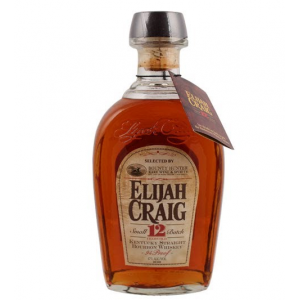 Elijah Craig 12 Year Old Kentucky Straight Bourbon Whiskey - 70cl 47%