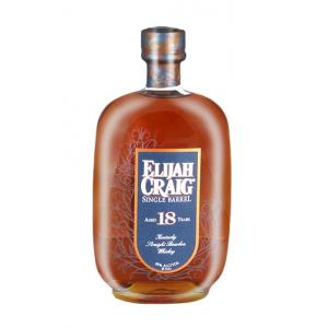 Elijah Craig 18 Year Old Whisky - 75cl 45%