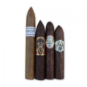 Full Strength Torpedo + Belicoso Cigars Sampler - 4 Cigars