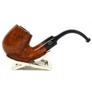 GBD Argosy 9456 Bent Briar 6mm Metal Filter Fishtail Pipe (GBD020)