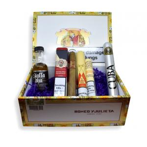 Cigar and Aftershave Selection Gift Box Sampler