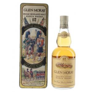 Glen Moray 12 year old Highland Regiments in Presentation Tin - 40% 70cl