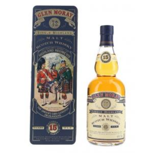 Glen Moray 15 Year Old Highland Regiments in Presentation Tin - 70cl 43%
