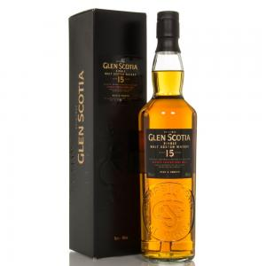 Glen Scotia 15 Year Old Single Malt Scotch Whisky - 70cl 46%