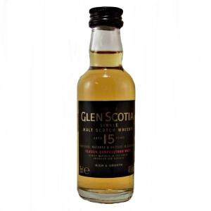 Glen Scotia 15 Year Old Miniature - 5cl 46%
