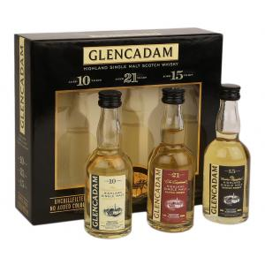 Glencadam Triple Pack Gift Selection (3 x 5cl)