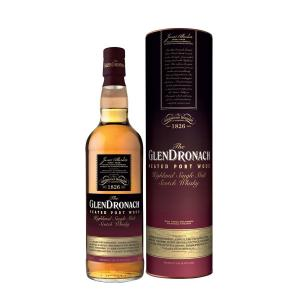Glendronach 10 Year Old Port Wood Single Malt Scotch Whisky - 70cl 46%