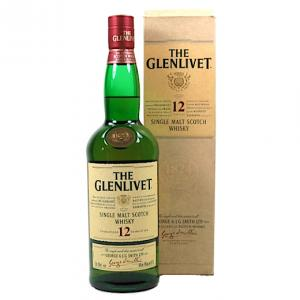 Glenlivet 12 year old - 40% 70cl