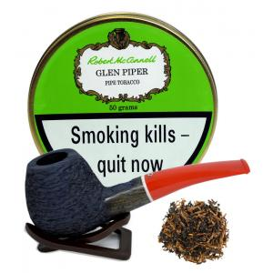 Robert McConnell Glen Piper Pipe Tobacco (50g Tin) - End of Line