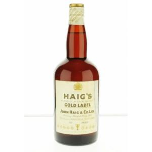 Haig's Gold Label 1960 Blended Scotch Whisky - 70 Proof