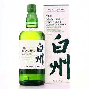 Hakushu Distillers Reserve Single Malt Japanese Whisky - 70cl 43%