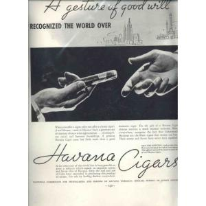 An Example of a 1930s Cigar Advert