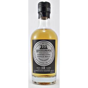 Hazelburn 12 Year Old Scotch Whisky - 20cl 46%