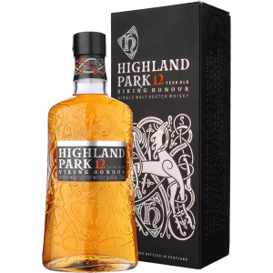 Highland Park 12 Year Old Viking Honour Single Malt Scotch Whisky - 70cl 40%