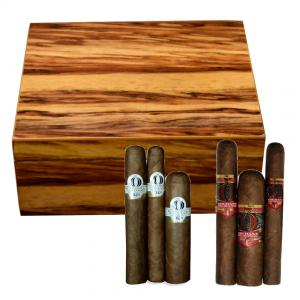 The Highlander Humidor + Alec Bradley and Oliva Orchant Seleccion Sampler