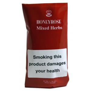 Honeyrose Mixed Herbs Mixture Herbal Smoking Hand Rolling Tobacco (Tobacco free) 50g Pouch