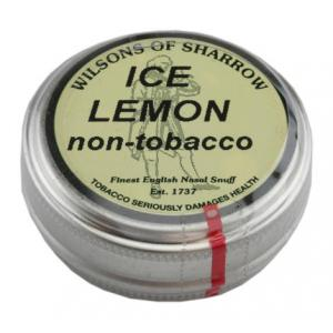 Wilsons of Sharrow - Ice Lemon (non-tobacco) - Medium Tin - 10g